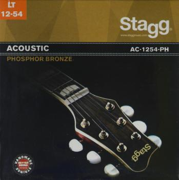 Phosphor-bronze set of strings for acoustic guitar (ST-AC-1254-PH)