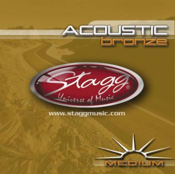 Bronze set of strings for acoustic guitar (ST-AC-1356-BR)