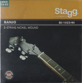 Set of nickel strings for 5-string banjo (ST-BJ-1023-NI)