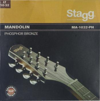 Phosphor bronze set of strings for mandolin (ST-MA-1032-PH)