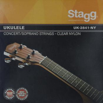 Set of clear nylon strings for ukulele (ST-UK-2841-NY)