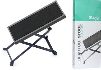 Metal foot rest for guitar players (ST-FOS-A1 BK)