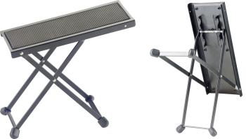 Metal foot rest for guitar players (ST-FOS-B1 BK)