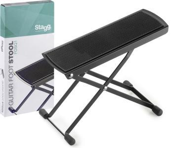 Metal guitar foot stool, foldable, Q series (ST-FOSQ1)