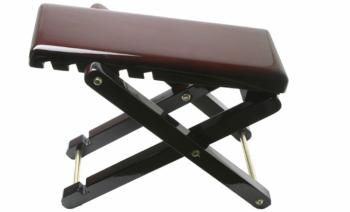 Wooden folding foot rest for guitar players (ST-FOS-A1 WD)
